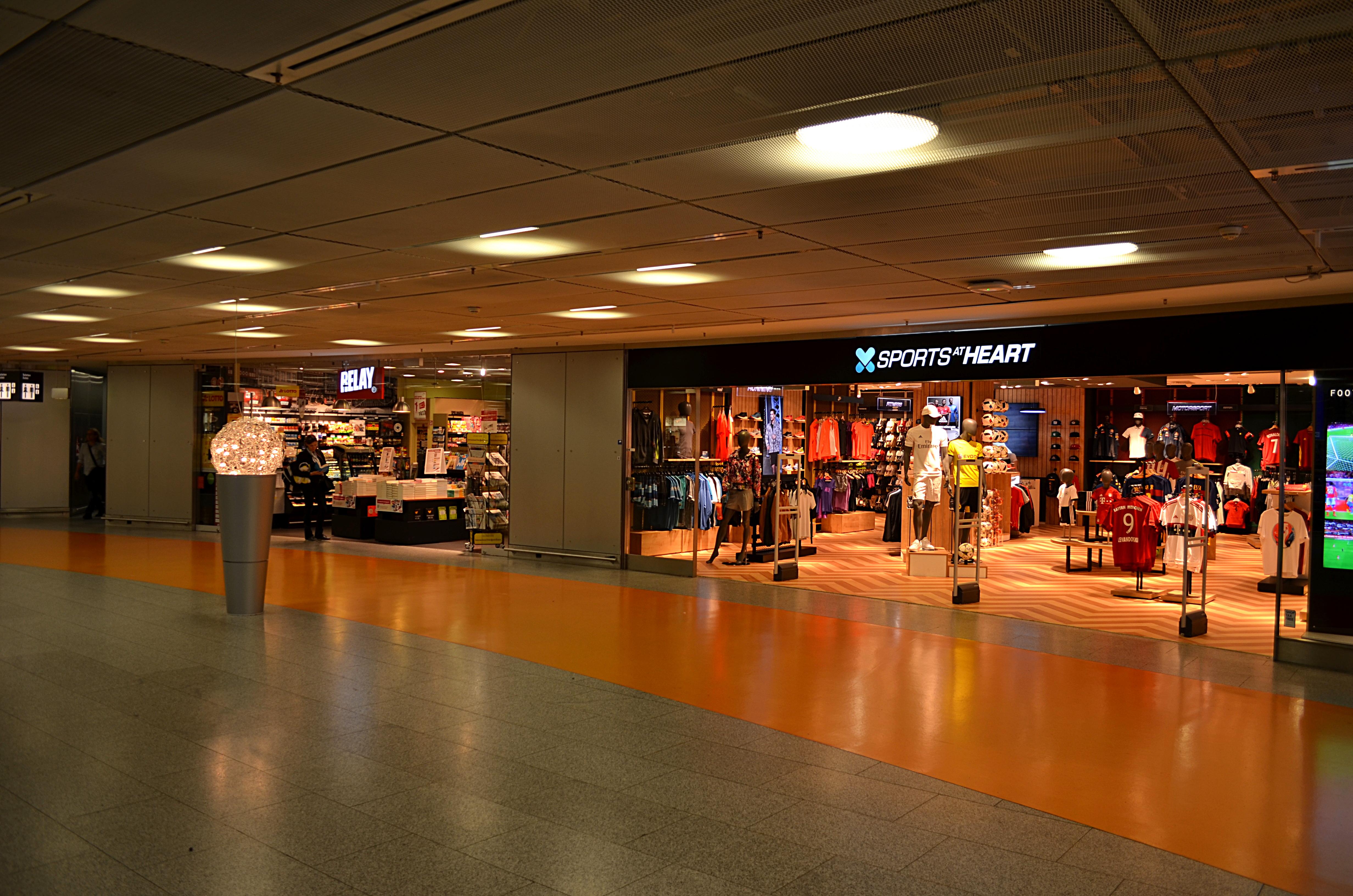Der Einzelhandel in den Terminals des Flughafens ist eine wichtige Einnahmequelle für Fraport.